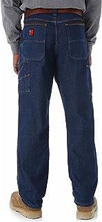 Wrangler Riggs Workwear Men's Contractor Jean, Antique Indigo, 48W x 32L