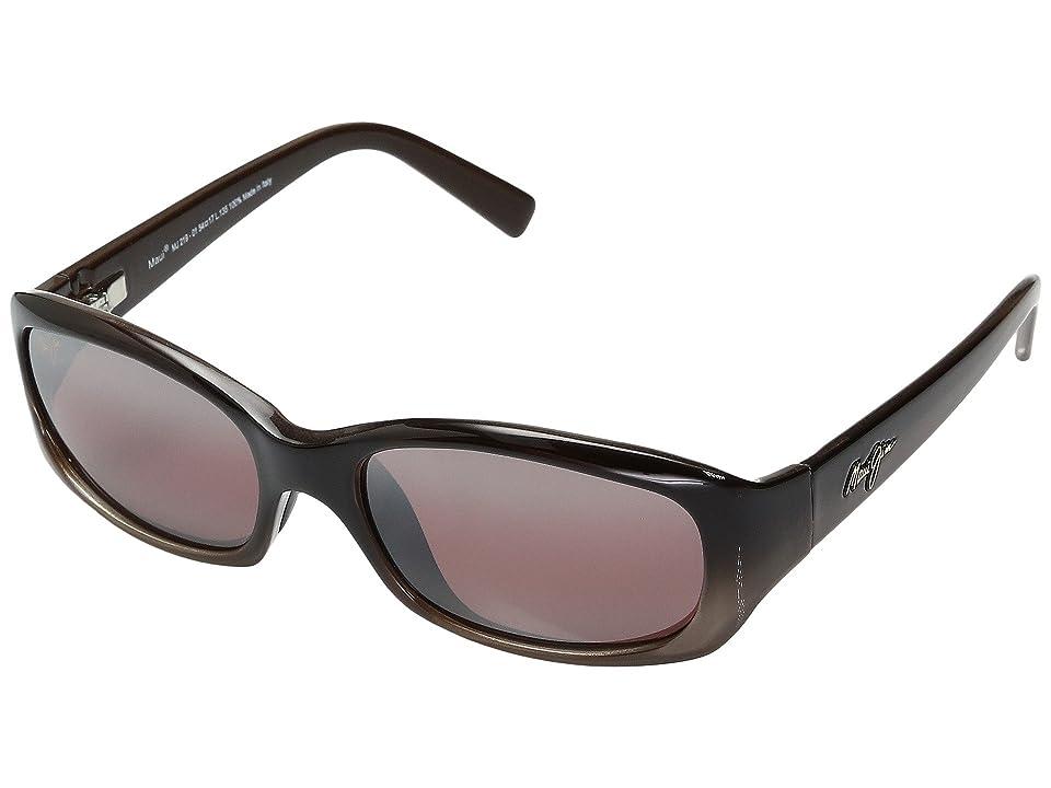 Maui Jim Punchbowl (Chocolate Fade/Maui Rose Lens) Sport Sunglasses