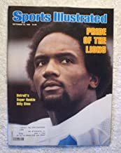 Billy Sims - Detroit Lions - Sports Illustrated - September 22, 1980 - SI