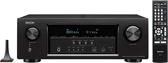 Denon AVR-S750H 7.2 CH 165 Watts High Performance 4K Ultra HD AV Receiver with HEOS, Apple Airplay, Google Assist and Amaz...