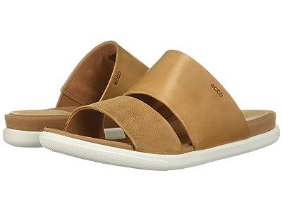ECCO Damara Slide Sandal (Cashmere/Lion) Women