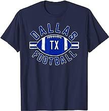 Blue White Dallas Distressed Pro Football Championship Team T-Shirt