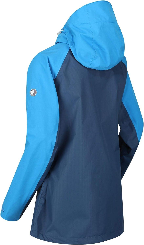 Regatta Womens Highton Stretch Waterproof Breathable Isotex 10000 Strech Panels Taped Seams Coat Jacket