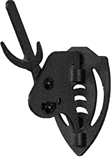 Skull Hooker Mini Hooker Skull Hanger - Perfect Kit for Hanging and Mounting Taxidermy Bear, Small Deer, Pronghorn, and Other Smaller Skulls for Display – Available in Graphite Black and Robust Brown