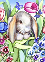 Loveable Lop by Laurie Korsgaden Art Print, 15 x 20 inches