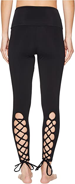 Laced-Up Leggings