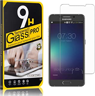 9H Screen Protector Compatible with Galaxy Note 5, CUSKING Tempered Glass Screen Protector for Samsung Galaxy Note 5, Anti Scratch, High Transparency, 4 Pack