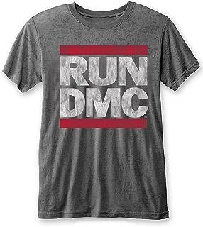 Run DMC 'Vintage Logo' Burnout T-Shirt