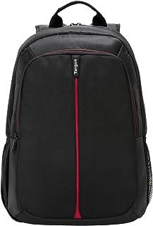 Targus Vertical 15.6-Inch Laptop Backpack, Black/Red (TSB884US)