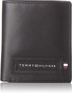 Tommy Hilfiger Modern Tall NS Trifold, Portafoglio Uomo, Nero (Black), One Size