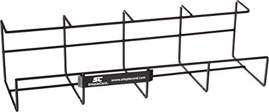 """Wire Tray Desk Cable Organizer - 32"""" Open Slot Raceway to Hold Cables, Cords, or Wires on Desks - Office Cable Management..."""