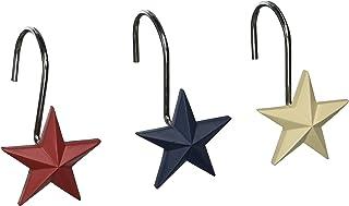 Avanti Linens Texas Star Products Shower Hooks flerfärgad
