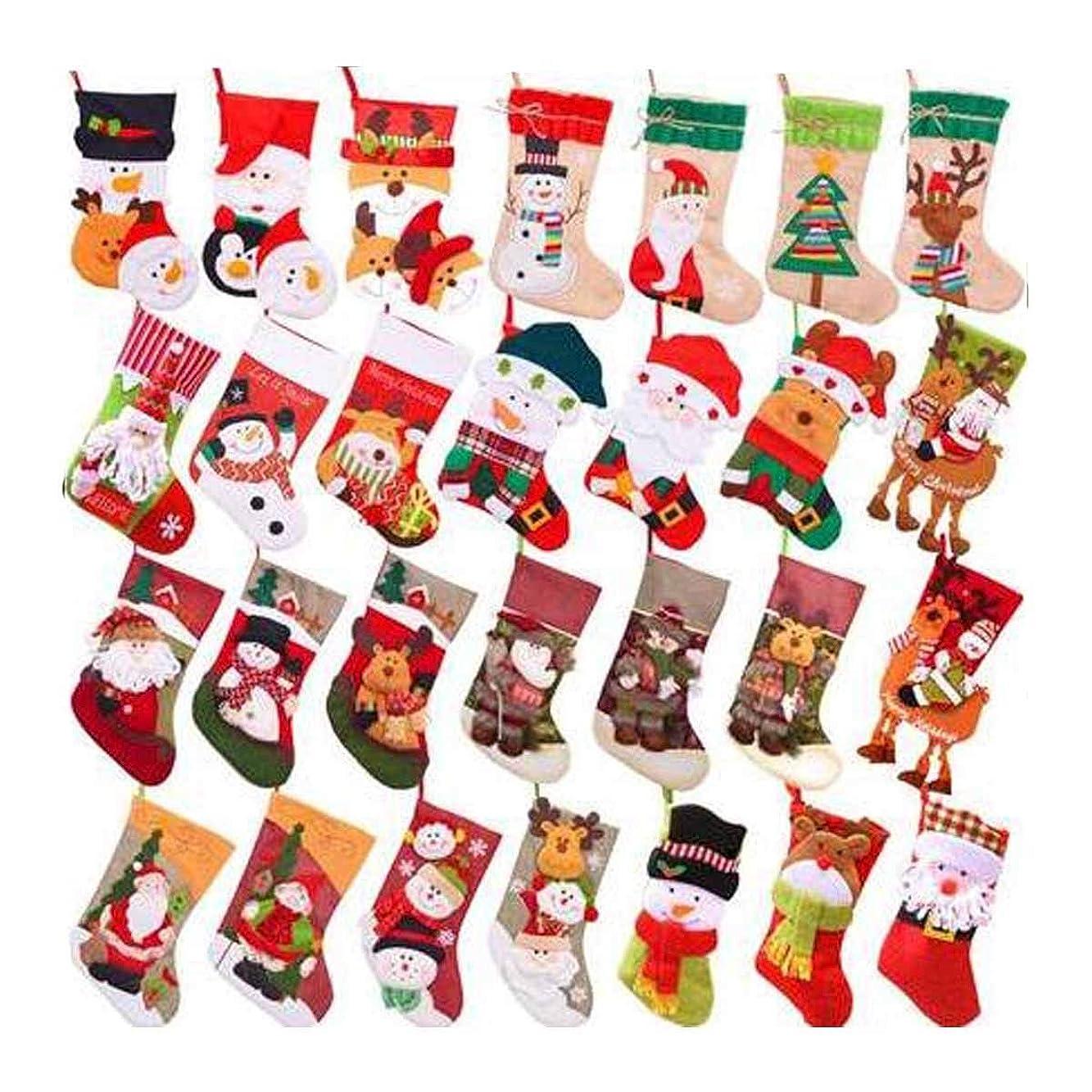 施設世代改修するクリスマスソックスギフトバッグクリスマスデコレーションギフトサンタ雪だるまソックスクリスマスギフトクリスマスソックスデコレーション (Color : J)