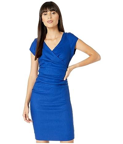 Nicole Miller Linen Beckett Dress (Insignia) Women