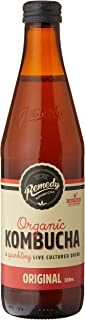 Remedy Organic Kombucha Original Bottle, 330 ml