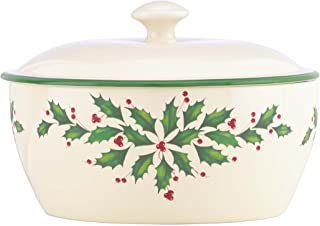 Best lenox holiday covered casserole Reviews