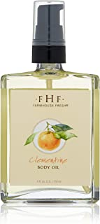 FarmHouse Fresh Clementine Body Oil, Orange, 4 fl. oz.