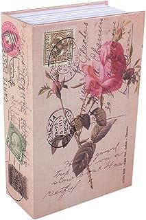 Créatif Dictionnaire Livre Coffre-Fort, Coffre-Fort de Rangement Secret Caché en Forme de Livre avec Serrure à Combinaiso...