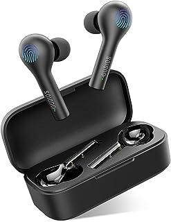 comprar comparacion Auriculares Bluetooth, Dudios Auriculares Wireless Estéreo Hi-Fi Sonido IResistentes al Agua, Estuche de Carga para iPhone...