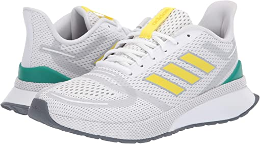 Footwear White/Shock Yellow/Glory Green