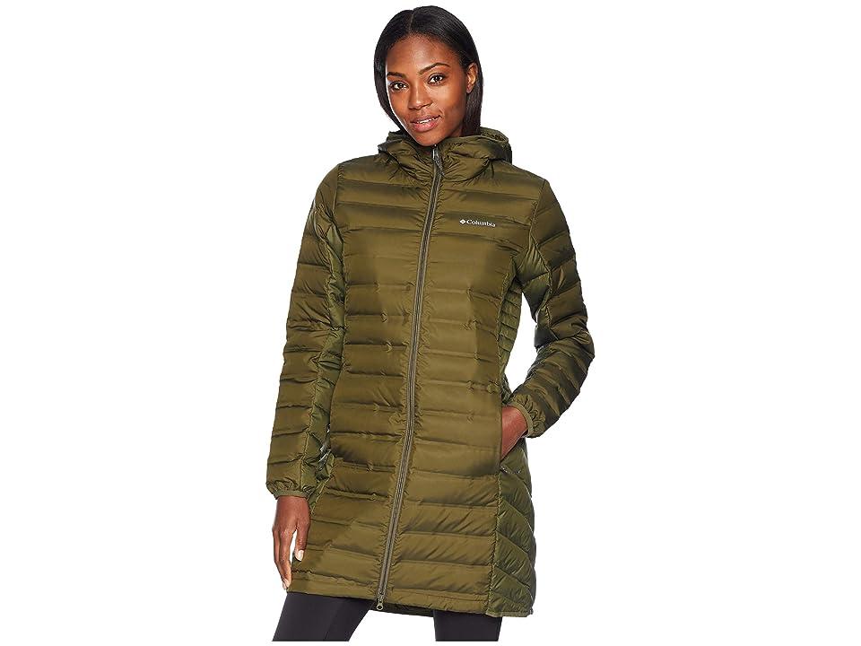 Columbia Lake 22 Long Hooded Jacket (Nori) Women
