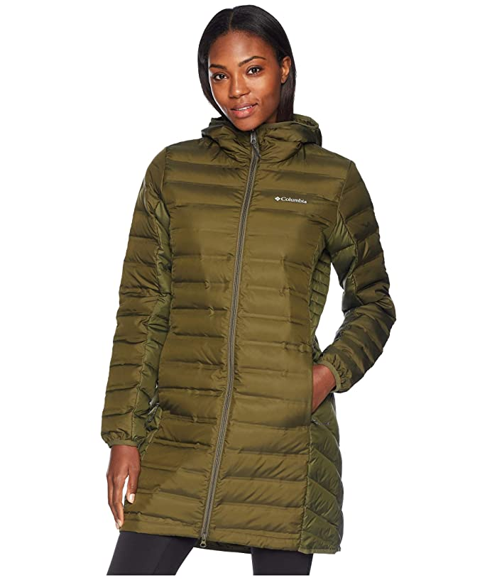 Columbia Lake 22 Long Hooded Jacket (Nori) Women