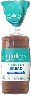 Glutino Gluten Free Bread, White, 13 oz. (Frozen)