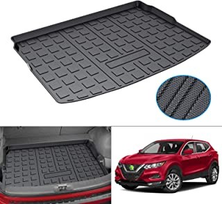 Mixsuper Cargo Liner for 2017-2021 Nissan Rogue Sport Cargo Tray in Highest Position (No S Models) Rear Trunk Floor Mat Durable Odorless 3D Upgrade Anti-Slip