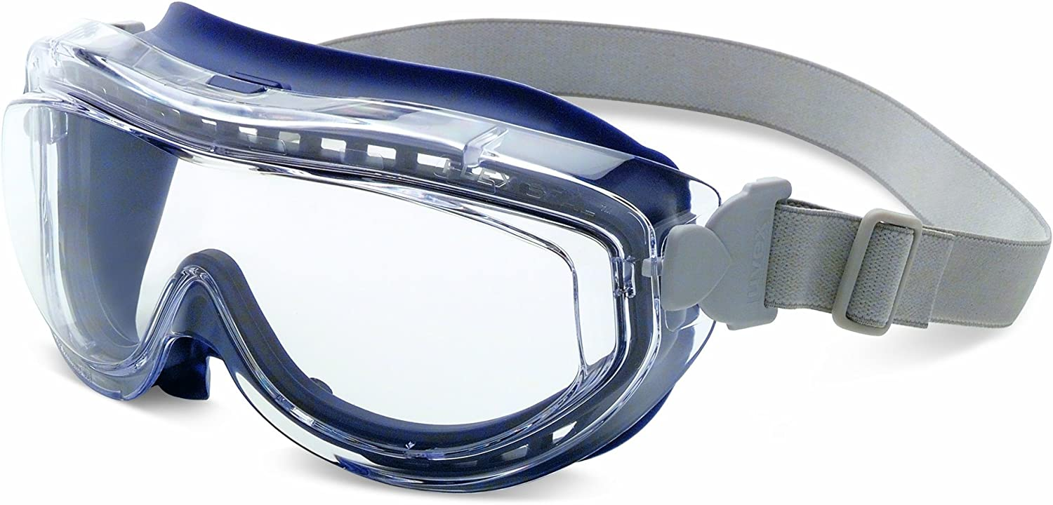 Honeywell Uvex S3405X Flex Seal Safety Body Clear At the price of surprise Navy Goggles Some reservation
