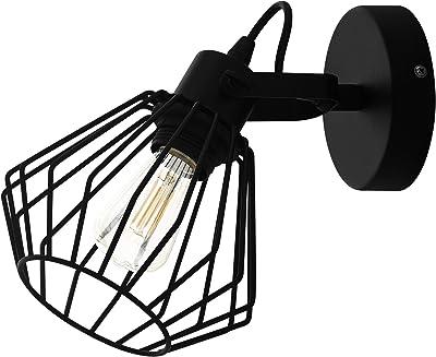 EGLO TABILLANO Lámpara de techo con focos, Negro