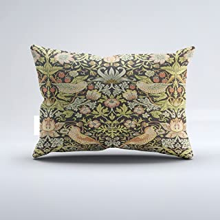 Orlando-XV Strawberry Thieves by William Morris, Textiles Pillowcase Pillow Cushion Cover Cases Single Side 16x24