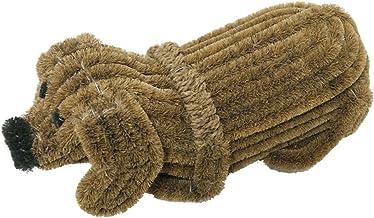 "Rubber-Cal ""Doggie"" Coir Boot Scraper Doormat, 5 by 9 by 18-Inch"