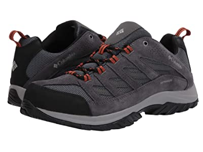 Columbia Crestwood Waterproof (Graphite/Dark Adobe) Men