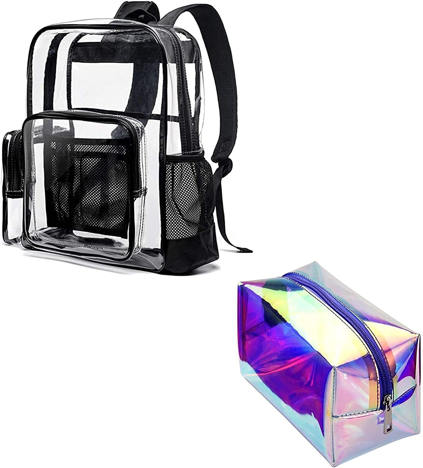 New sales 2021 new Clear Backpack Cambond Heavy Duty Hol Transparent and Backpacks