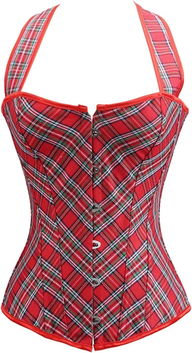 Corset Women Bustier Plus Size Corselet Halter Corsets Corset (C