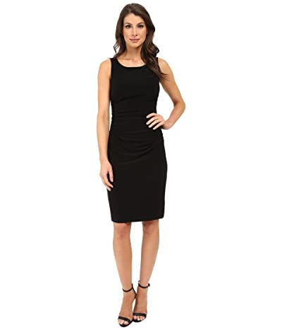 KAMALIKULTURE by Norma Kamali Sleeveless Shirred Waist Dress (Black) Women