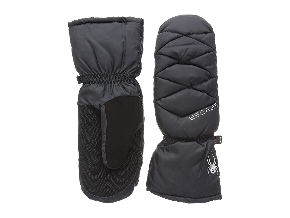 Spyder Candy Down Mitten (Black/Black/Black) Extreme Cold Weather Gloves