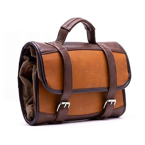 a9bb7205f7 Vetelli Men's Hanging Toilet/Toiletry Bag - Dopp Kit, Wash Bag/Travel  Accessories