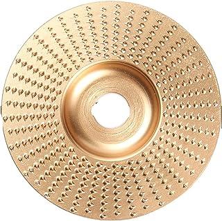 Wnuanjun Houtslijpwiel draaischijf slijpen hout carving tool slijpschijven gereedschap voor haakse slijpers (maat : 85MM 1pc)
