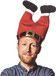 DomeStar Christmas Hat, Funny Hat Novelty Santa Hat Crazy Hats Elf Hat Santa Pants Hat