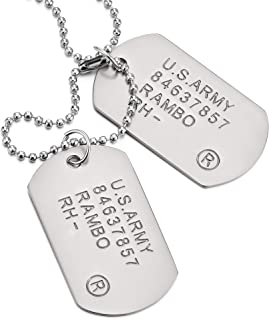 engraved army dog tags