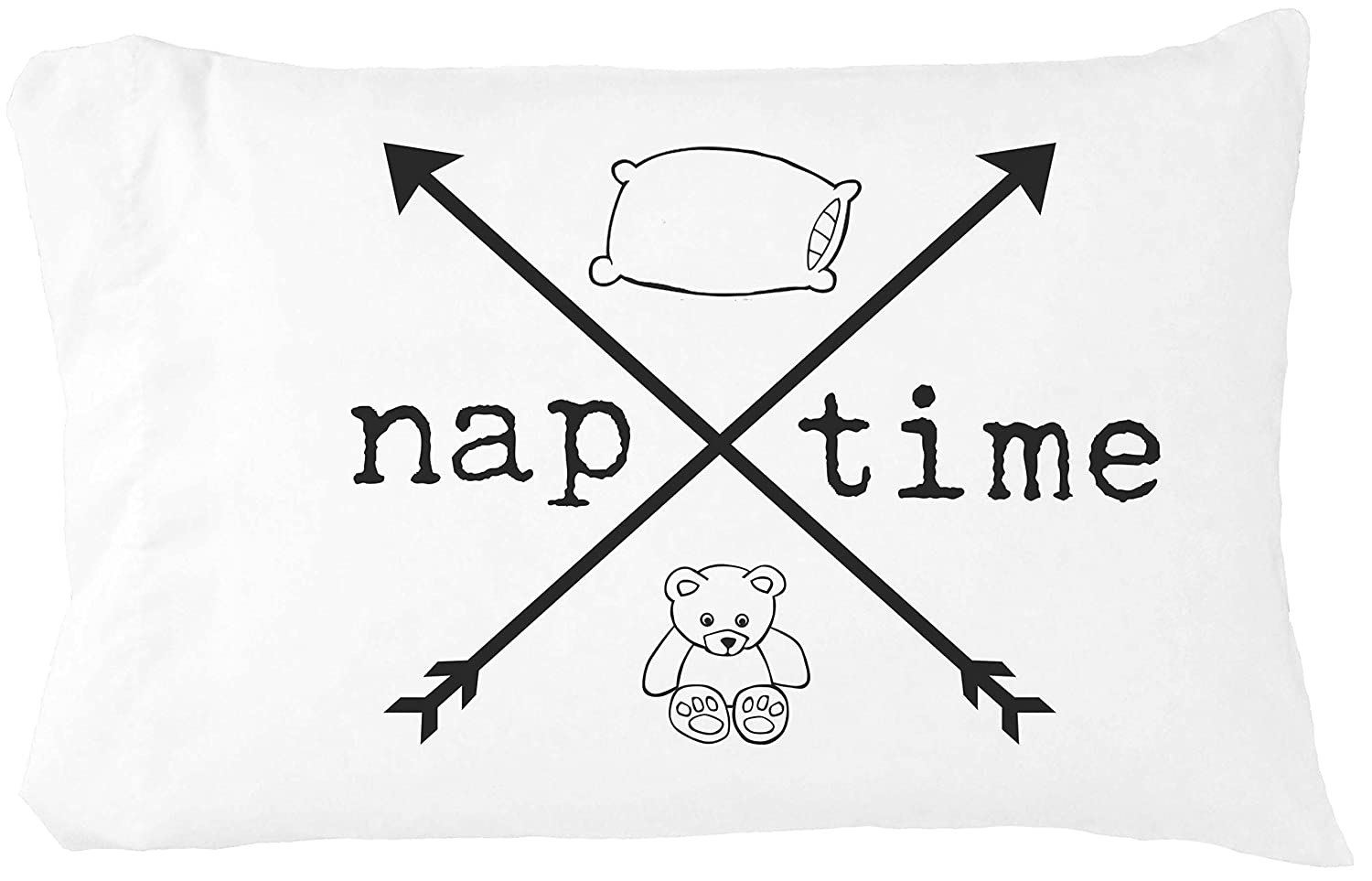 Oh Opening large release sale Susannah Naptime Pillow Case Arrows Crossed New Shipping Free Shipping Toddler -
