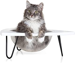 Primetime Petz Hauspanther Tripod - Cat Lounge Pod, White