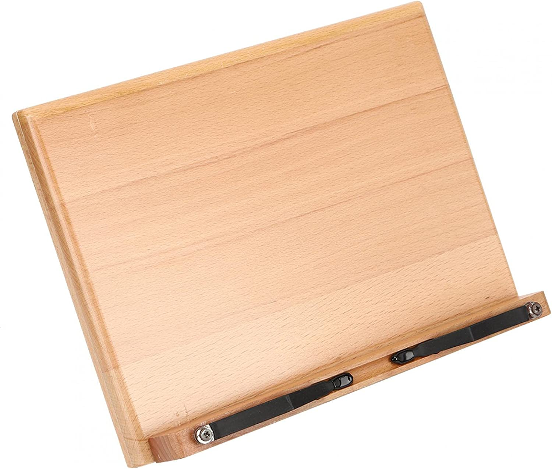 High order Adjustable Solid Wood Book Stand Rest Mult Holder Reading gift