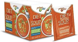 Primavita - Sopa de tomate sustitutiva de comidas para dietas adelgazantes, 55g (10 sobres de ración)
