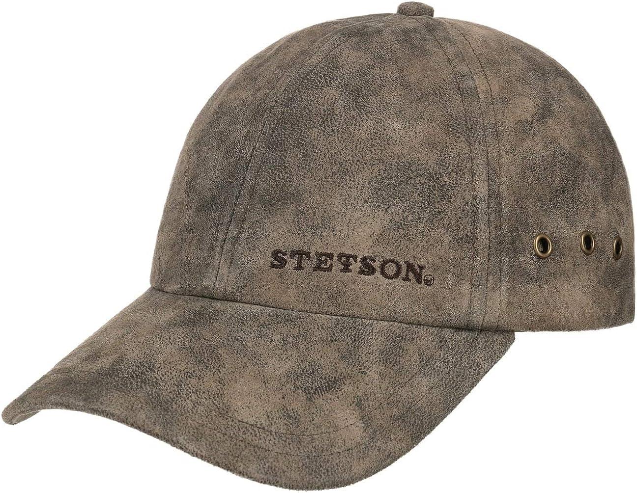 Stetson Rawlins Pigskin Baseball Cap Men  