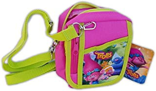 Trolls Poppy Hot Pink Camera Pouch Bag Wallet Purse Shoulder Strap. Size: 7
