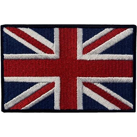 Great British Union Jack Flag Embroidered UK England Flag Iron On Sew On Patch