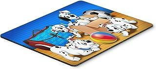 Caroline's Treasures Dalmatians playing ball Mouse Pad, Hot Pad or Trivet, Multicolor (APH9058MP)