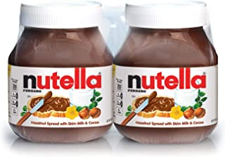 A Product of Nutella Hazelnut Spread Twin Pack (26.5 oz., 2 pk.)